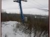 Фотография склона с горнолыжной трассой в Ульяновске. Декабрь 2011г.
