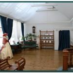 Внутри павильона фотографа в музе Симбирская фотография