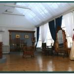 Воссозданный интерьер павильона в музее фотографии