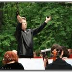 Фотография выступления Ульяновского симфонического оркестра Губернаторского на эстраде в Винновской роще. 2011г.
