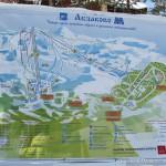 Схема горнолыжных трасс в ГЛЦ Абзаково.