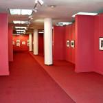 Общий вид зала выставки