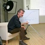 Валерий Степанович Дурнов ведет семинар.