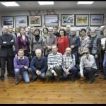 Участники и гости на открытии выставки