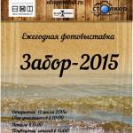 афиша Забор 2015
