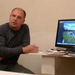 Михаил Шнейдер на встрече в фотоклубе Сталкер